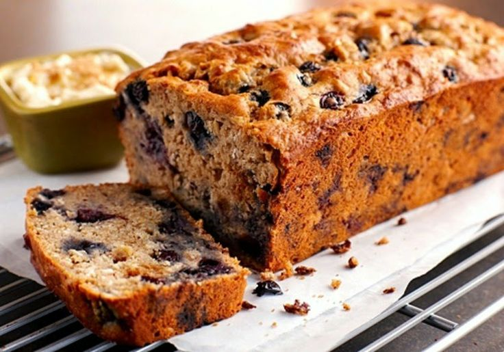 Blueberry Banana Oat Bread - Quick And Easy Fat Burning Recipes