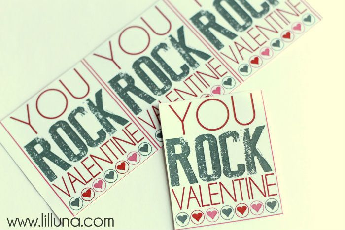 valentine's day rock music