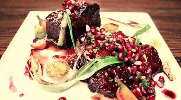 Pomegranate Brisket Recipe — Dishmaps