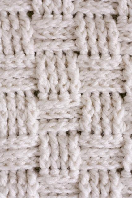 Crochet Baby Blanket Basket Weave Pattern : Basket weave baby blanket pattern Crochet & Knit Pinterest