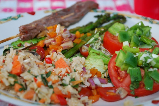 rice and vegetable pilaf | ~ Food ~ | Pinterest