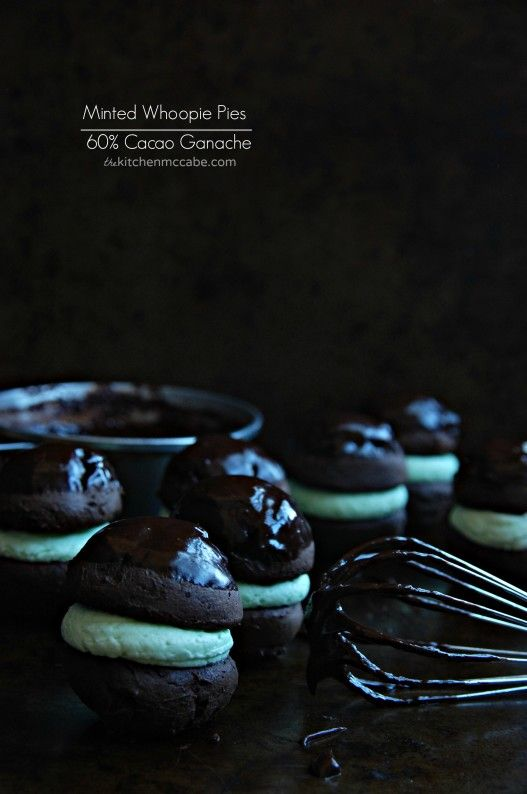 The Kitchen McCabe: Minted Whoopie Pies