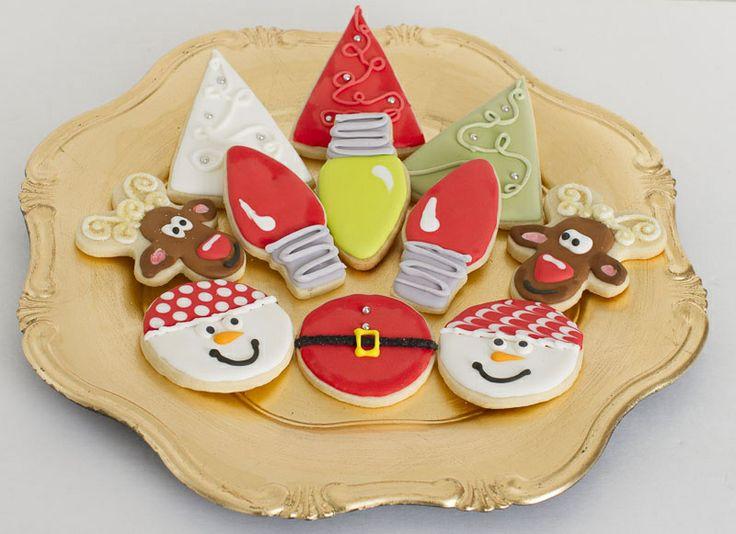 Mix of christmas sugar cookies baking pinterest