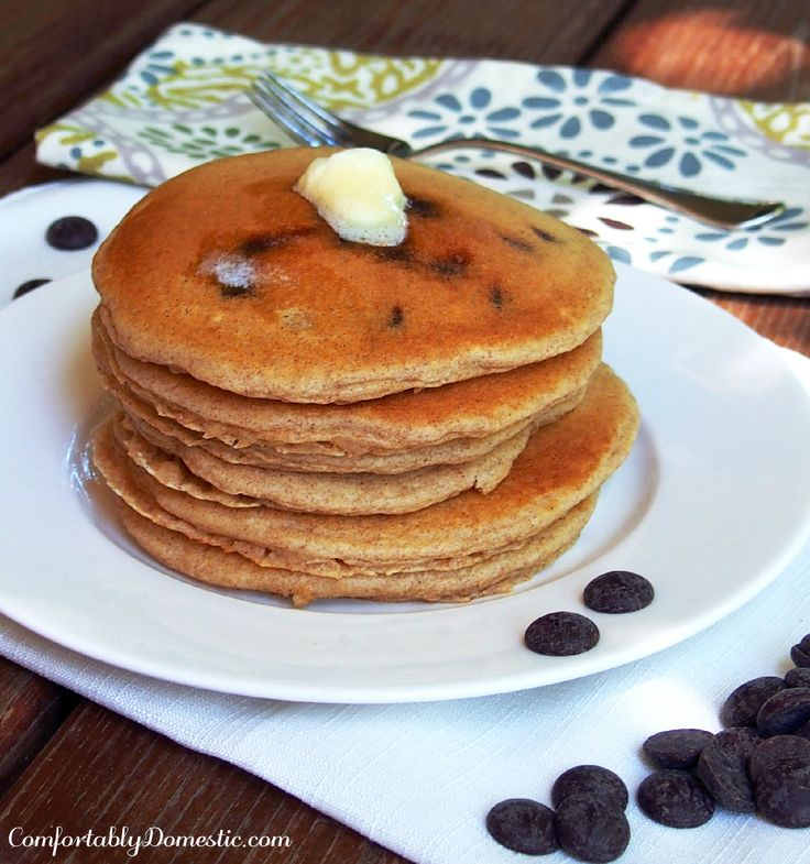 The Best Darn Chocolate Pancakes EVER Recipes — Dishmaps