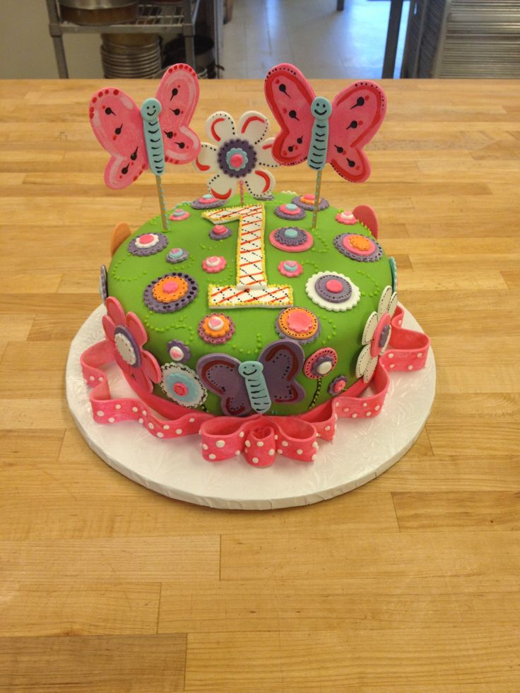 Butterfly And Flower Cake Ideas 73408 Butterfly And Flower