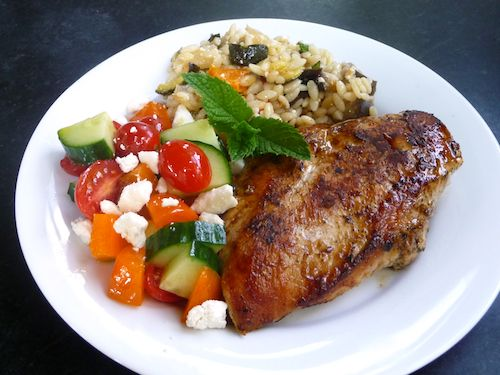 greek grilled chicken (chicken recipe looks great; plus links to some ...