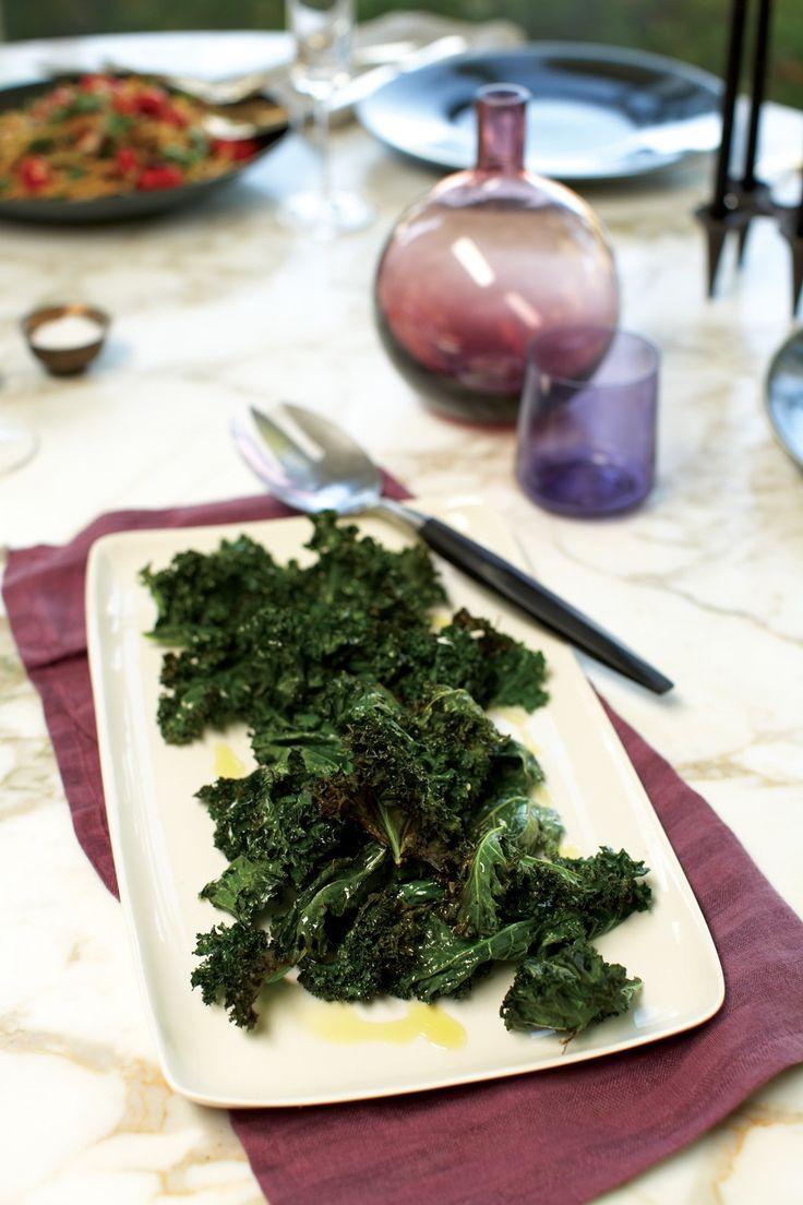 recipe crispy kale leaves