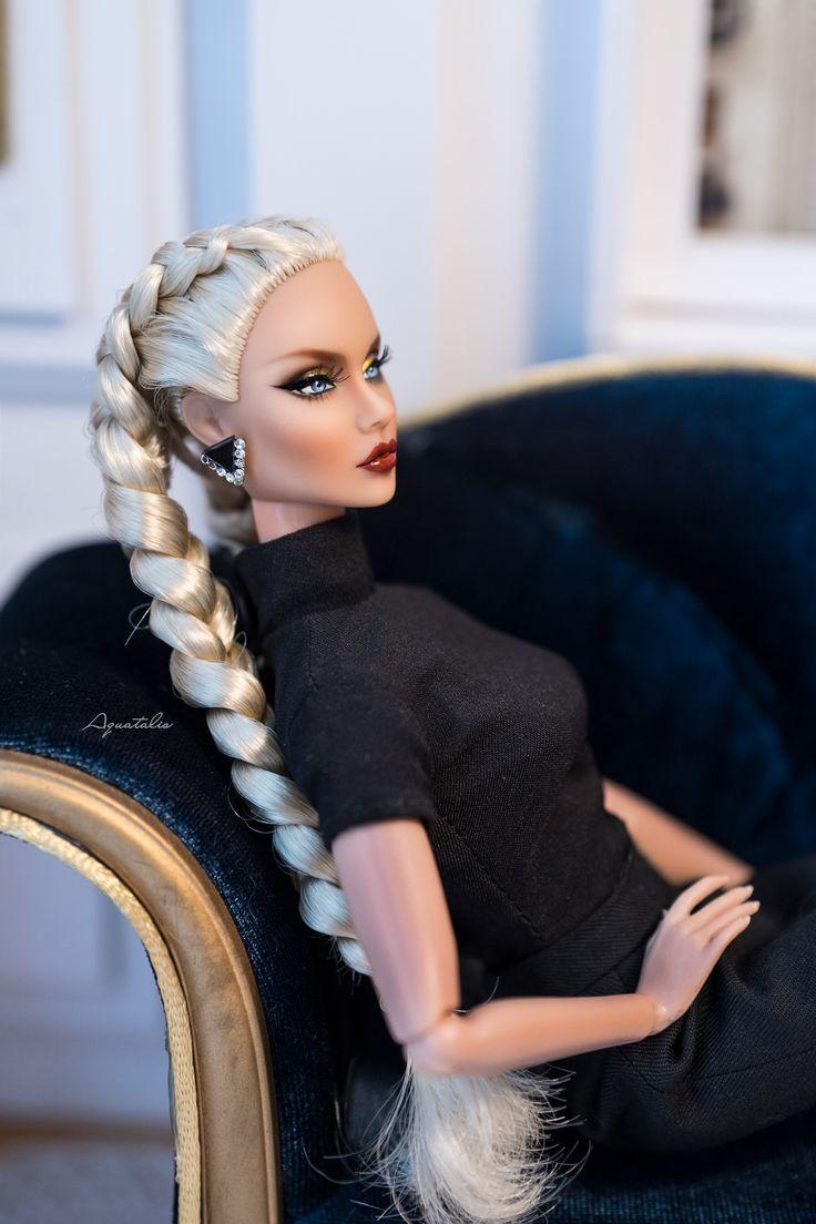 Вяжем платье спицами для куклы Gotz своими руками / Мастер