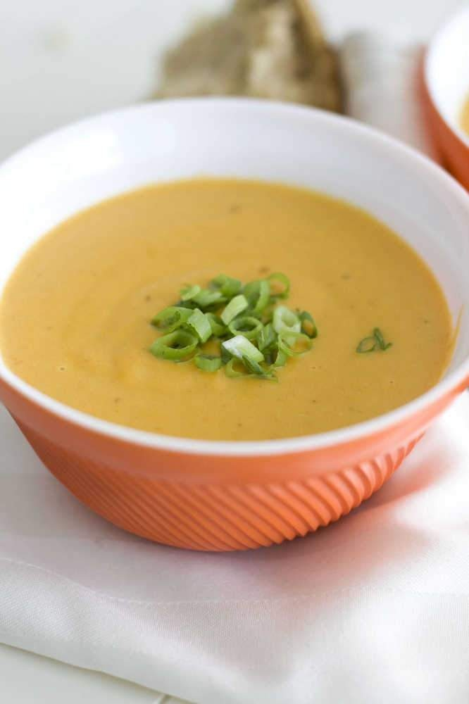 Creamy Chipotle Carrot Soup | Soups | Pinterest