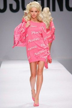Moschino Barbie theme spring 2015