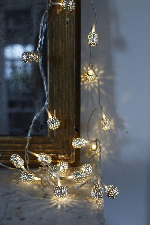 Pretty star string lights College ideas Pinterest