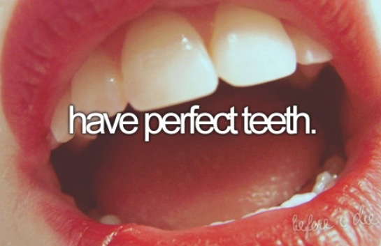 Haha yeah right! I love my FANGS!