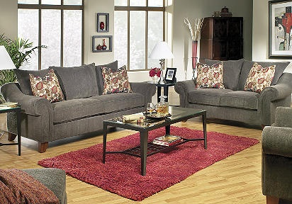 Gray couch set from Rooms To Go