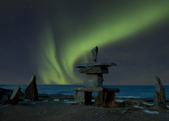 nunavut northern lights facts