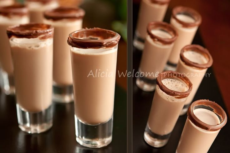 Nutella Shots | Drink recipes | Pinterest