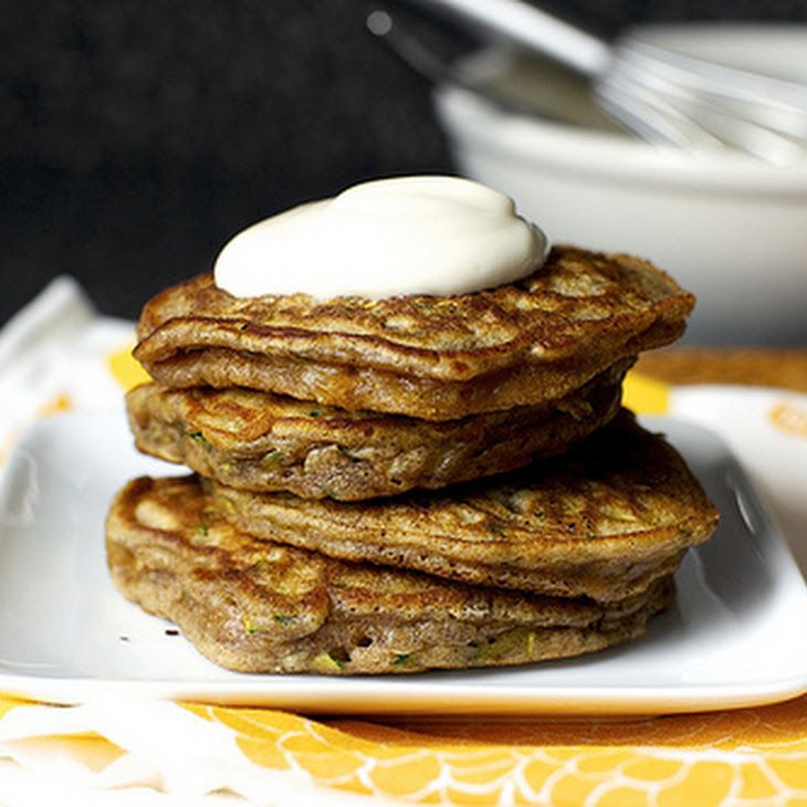 Zucchini Bread Pancakes Recipe | Food | Pinterest