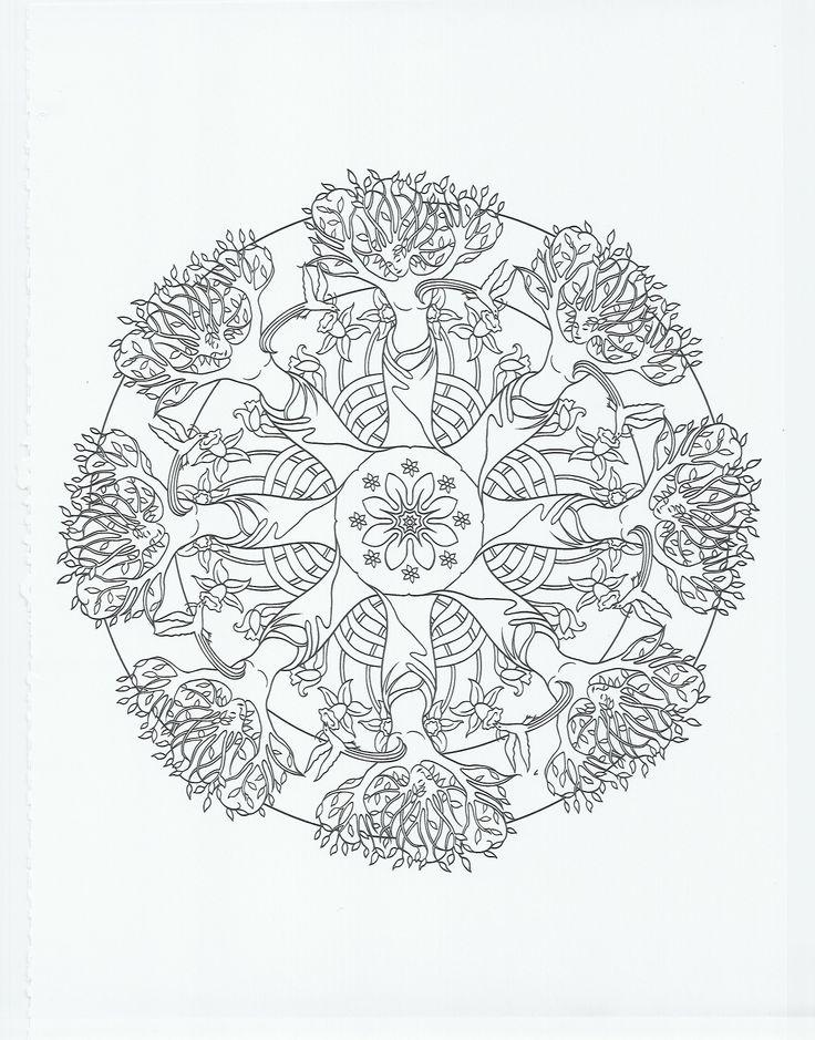Search results for mandala coloring calendar 2015 for Jardin mandala