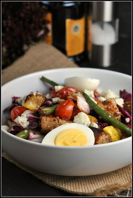 Grilled Vegetable Panzanella: Just look at all of the lovely grilled ...