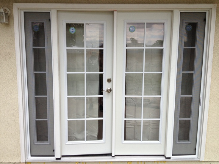 french doors with sidelines 799 at home depot