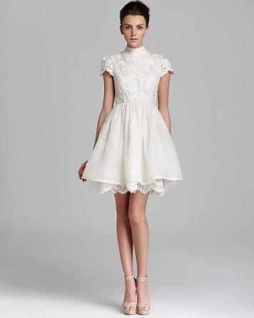 Dress Alice Olivia Dress Fyona Lace Bodice Party Bloomingdales