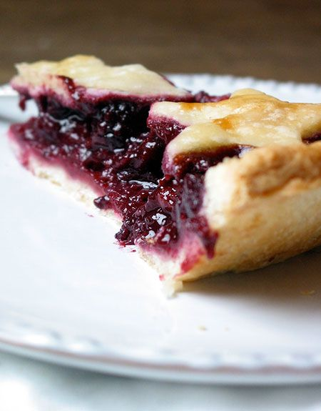 Apple-Blackberry Pie with Ginger. This sounds like my perfect pie.