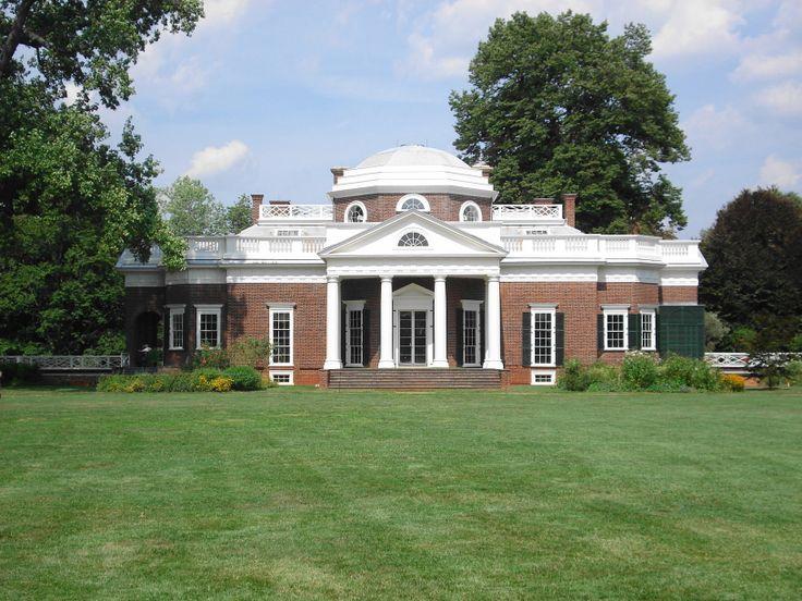 Monticello thomas jefferson 39 s home virginia the mother for Thomas jefferson house monticello