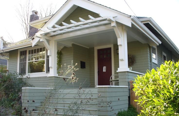 craftsman porch porches pinterest