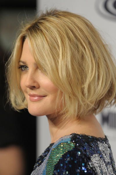 drew barrymore bob | Drew Barrymore | Pinterest