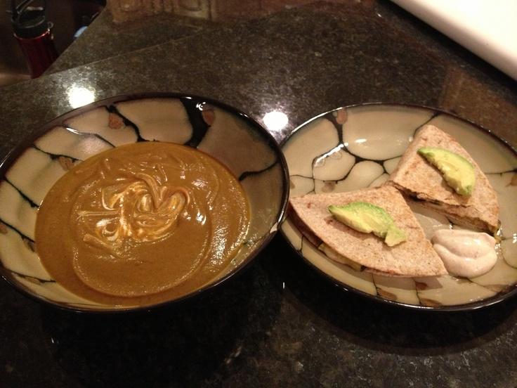 Grilled Cumin-Lime Zucchini Quesadilla | Recipe