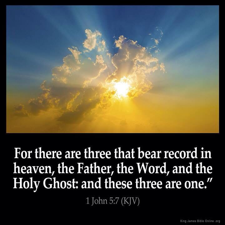 Image result for  1 John 5:7