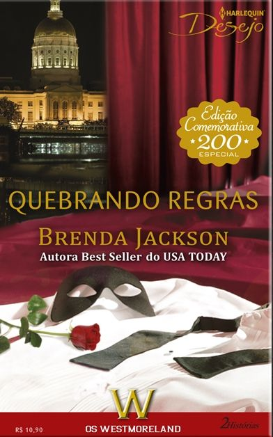 ALTO, MORENO… ARRASADOR! Tudo o que Olivia Jeffries queria era uma aventura, mas as coisas se complicam quando descobre que seu novo amante é ninguém menos que Reginald Westmoreland, o maior rival do pai dela! E Reginald não tem a menor intenção de deixá-la escapar. NOITE DE PAIXÃO Mesmo sabendo que não deveria se envolver com os funcionários, Ramsey Westmoreland não resiste à nova cozinheira, Chloe Burton. Mas quando descobre uma traição, a expulsa de sua cama.