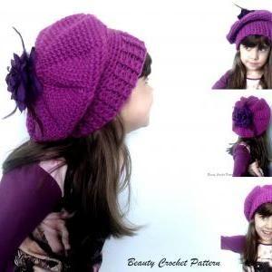 Pattern For Crochet Beret | Learn to Crochet