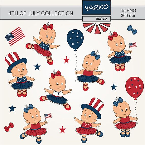 4th of july pictures clip art free