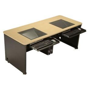 "Downview Computer Desk 72"" Wide | Desks | Pinterest"