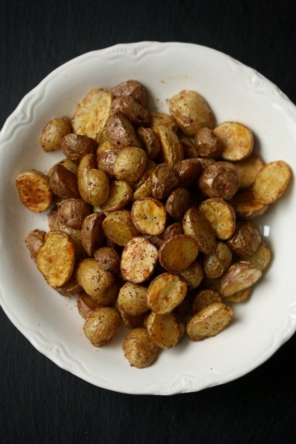 Sumac Roasted Baby Potatoes | Food | Pinterest