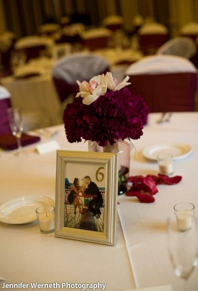 picture frame centerpiece 28 images illuminated