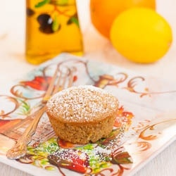 Olive Oil Muffins by laurassweetspot | sweets | Pinterest
