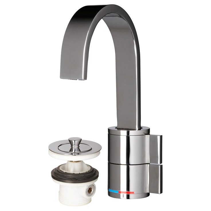 LEDSKÄR Bath faucet with strainer IKEA