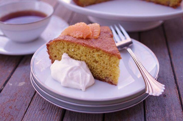 Recipe for orange-cornmeal cake - The Boston Globe