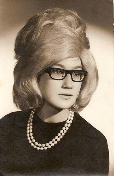 1960s bouffant cat eye - Google Search   old hair styles ...