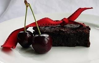 ... brownie flourless double chocolate brownies dark chocolate and cherry