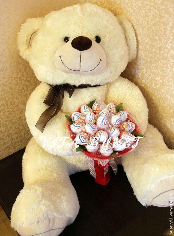 Мягкие подарки для девушки 384