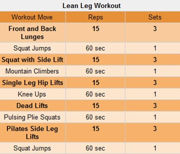 Leg Workout Swimming Pinterest