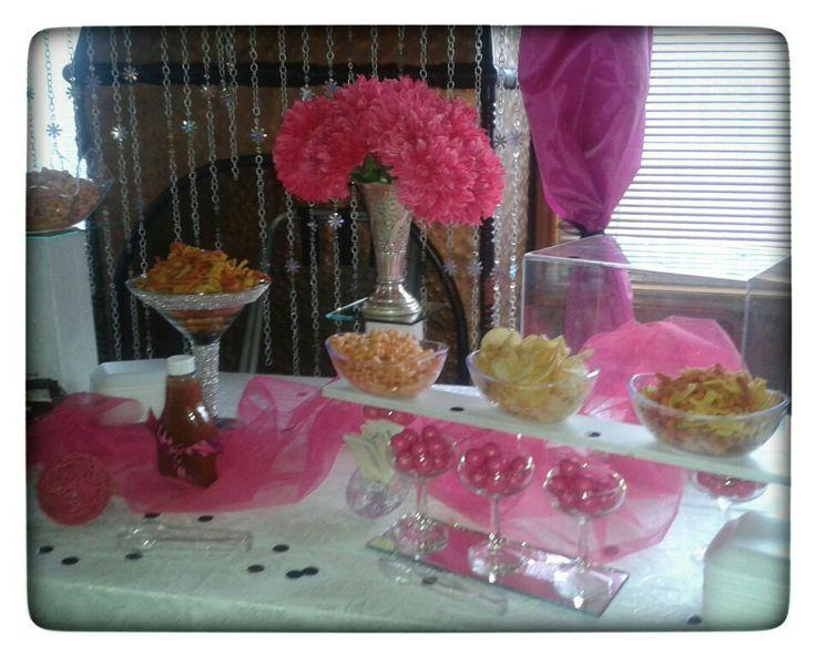 Mesa de cumplea os para ni as decoraci n fiestas for Mesas cumpleanos infantiles
