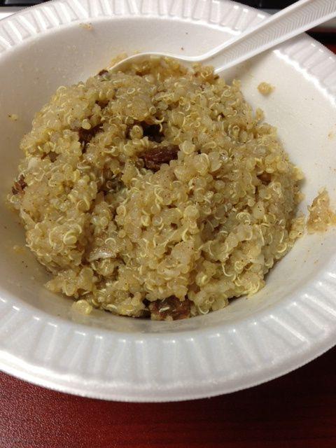 Cinnamon Maple Breakfast Quinoa | Gluten Free | Pinterest