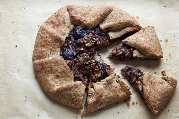 Fresh Fig and Hazelnut Galette - Fresh Fig Contest Runner-up