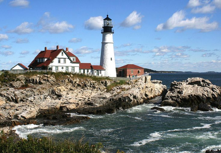 portland head light maine scenes from new england