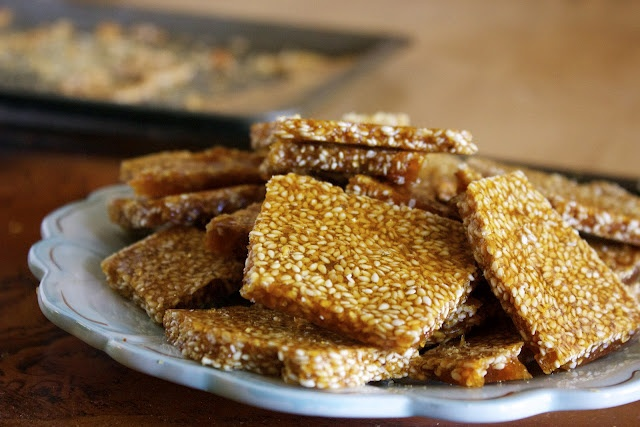 Sesame brittle | Yummy Recipes | Pinterest