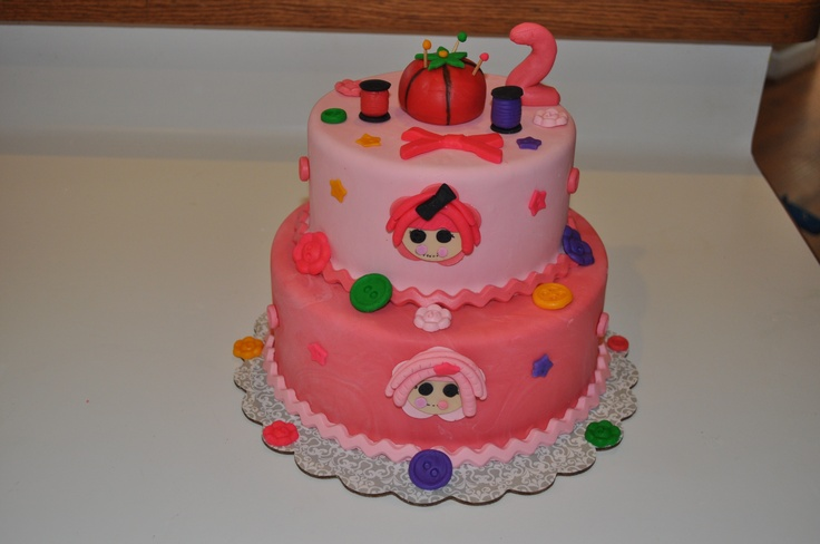 Lalaloopsy birthday cake | Made by me | Pinterest