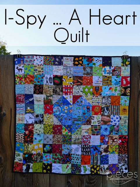 I-Spy Heart Quilt - A Quilt for a Baby Logo's Heart